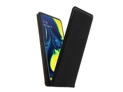 Калъф тефтер Slim Flexy за Samsung Galaxy A80 / A90, Черен