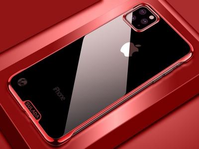 Пластмасов Гръб SULADA Electroplating за iPhone 11 Pro Max (6.5), Червен