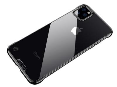 Пластмасов Гръб SULADA Electroplating за iPhone 11 Pro Max (6.5), Черен