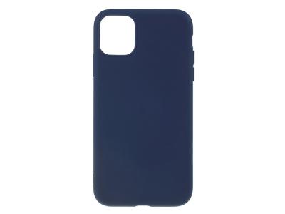 Силиконов Гръб Matte за iPhone 11 Pro (5.8), Тъмно син