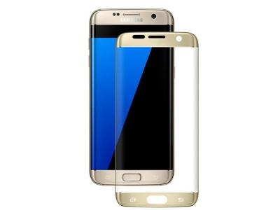 Протектор Samsung за Galaxy S7 edge G935, Златист