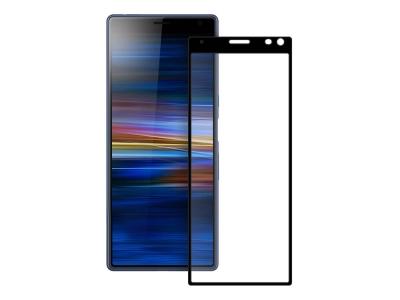 Стъклен протектор 3D Full за Sony Xperia 10 Plus, Черен