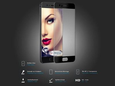 Стъклен протектор 5D Full Glue за Huawei P10 , Черен