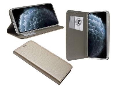Калъф Тефтер за iPhone 11 Pro Max, Златист