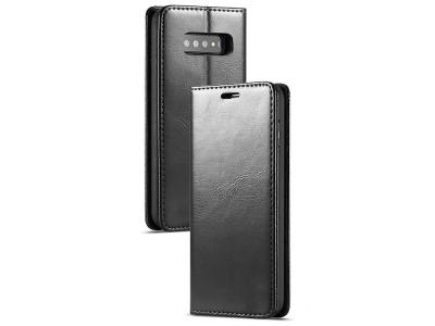 Калъф Тефтер Magnetic за Samsung Galaxy S10 Plus , Черен
