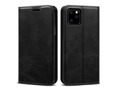 Калъф Тефтер Magnetic за iPhone 11 Pro Max, Черен