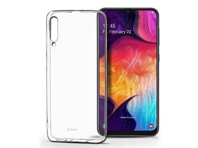 Силиконов гръб Jelly Roar за Samsung Galaxy A50, Прозрачен