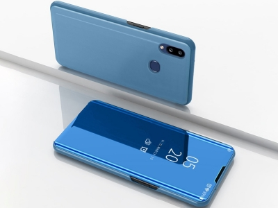 Калъф Тефтер View Window за Samsung Galaxy A10s, Светло син