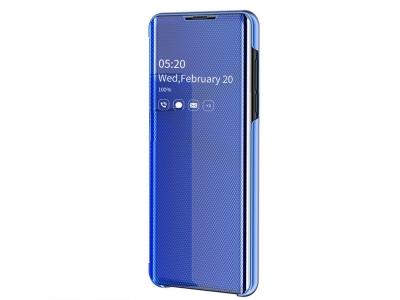 Калъф Тефтер View Window за Samsung Galaxy A40, Син