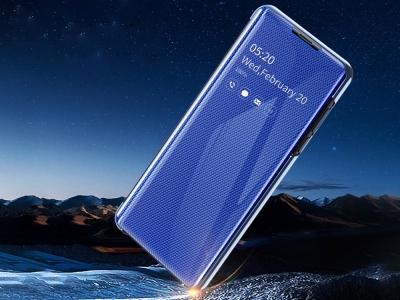 Калъф Тефтер View Window за Samsung Galaxy A20e, Син