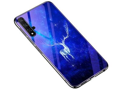 Стъклен Гръб Glass за Huawei Honor 20 / Honor 20s / nova 5T, Елен