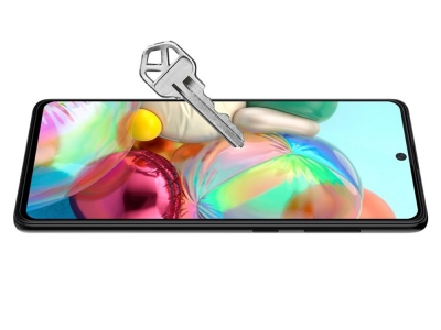 Стъклен Протектор 5D Full Glue за Samsung Galaxy A51 (2019), Черен