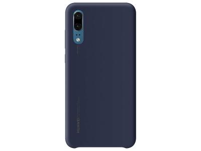 Оригинален Силиконов Гръб Huawei за Huawei P20, Син