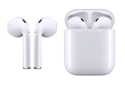 Слушалки TWS Macaron Bluetooth 5.0 Pop Up Toch Charging Box, Бял