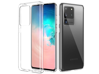 Силиконов гръб за Samsung Galaxy S20 Ultra, Прозрачен