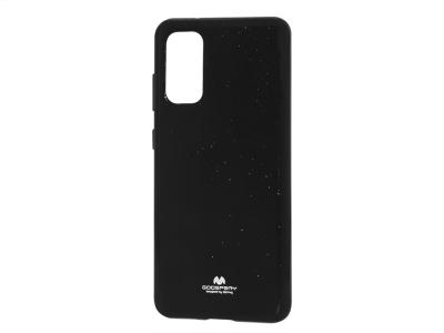 Силиконов гръб Jelly Mercury за Samsung Galaxy S20 / S11E (G980), Черен