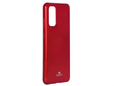 Силиконов гръб Jelly Mercury за Samsung Galaxy S20 PLUS / S11, Червен