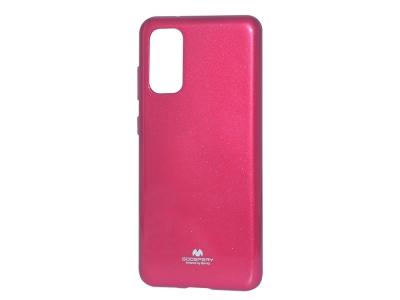 Силиконов гръб Jelly Mercury за Samsung Galaxy S20 PLUS  / S11, Розов