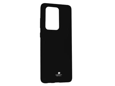 Силиконов гръб Jelly Mercury за Samsung Galaxy S20 Ultra / S11 Plus, Черен