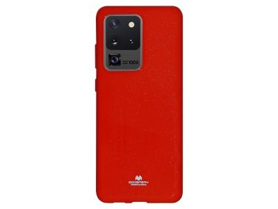 Силиконов гръб Jelly Mercury за Samsung Galaxy S20 Ultra / S11 Plus, Червен
