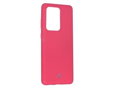 Силиконов гръб Jelly Mercury за Samsung Galaxy S20 Ultra / S11 Plus, Розов