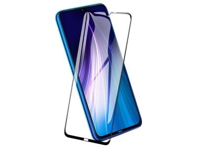 Стъклен Протектор 5D Full Glue за Xiaomi Redmi Note 8T, Черен