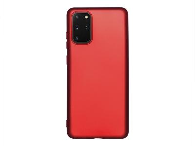 Силиконов Гръб Level за Samsung Galaxy S20 Plus , Червен