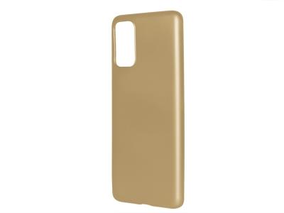 Силиконов Гръб Level за Samsung Galaxy S20 Plus, Златист