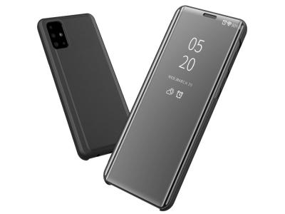 Калъф Тефтер View Window за Samsung Galaxy A71, Черен