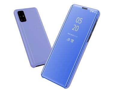 Калъф Тефтер View Window за Samsung Galaxy A71, Светло син