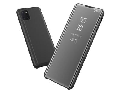 Калъф Тефтер View Window за Samsung Galaxy A81 / Note 10 Lite, Черен