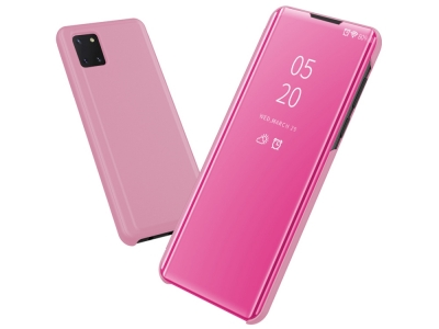 Калъф Тефтер View Window за Samsung Galaxy A81 / Note 10 Lite, Розов