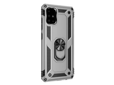 Удароустойчив Гръб Hybrid Cover за Samsung Galaxy A71, Сребрист