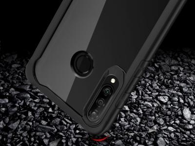 Удароустойчив гръб Shock-resistant за Huawei P30 Lite / nova 4e, Черен