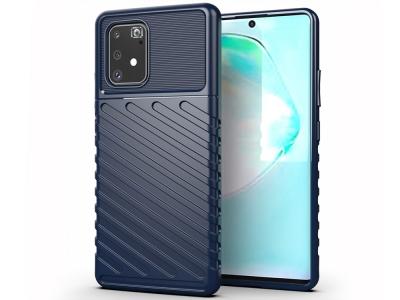 Силиконов Гръб Thunder за Samsung Galaxy S10 Lite / A91, Син