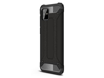 Удароустойчив гръб Armor за Samsung Galaxy A81/Note 10 Lite , Черен