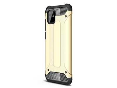 Удароустойчив гръб Armor за Samsung Galaxy A81/Note 10 Lite, Златист