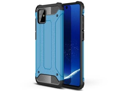 Удароустойчив гръб Armor за Samsung Galaxy A81/Note 10 Lite , Светло син