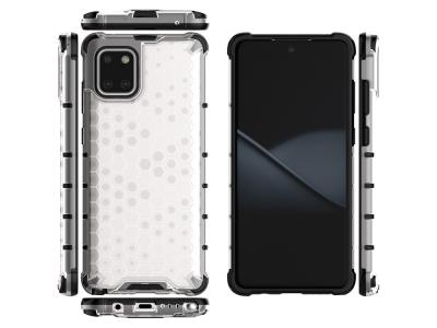 Пластмасов Гръб Shock Absorber за Samsung Galaxy A81/Note 10 Lite, Бял