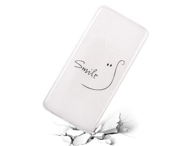 Силиконов Гръб за Samsung Galaxy A40, Усмивка