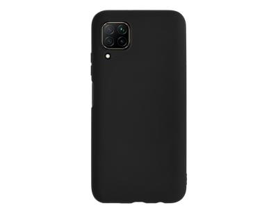 Силиконов гръб Level за Huawei P40 Lite, Черен