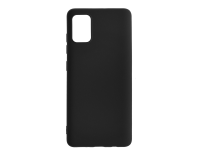 Силиконов гръб Level за Samsung Galaxy A51, Черен