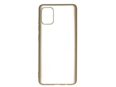 Силиконов гръб Level за Samsung Galaxy A71, Златист