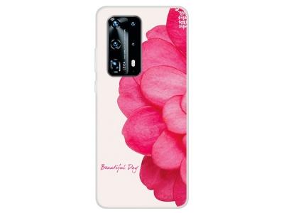 Силиконов Гръб за Huawei P40 Pro, Красиво цвете