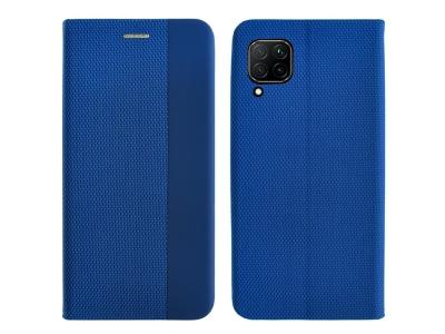 Калъф Тефтер SENSITIVE за Huawei P40 Lite, Син
