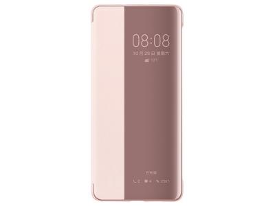 Калъф тефтер View Cover за Huawei P30, Розов-Златист