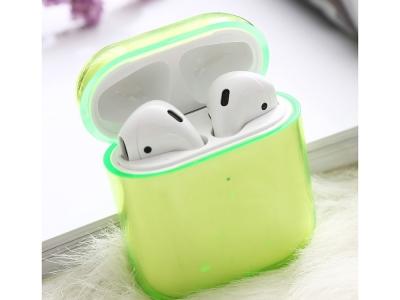 Пластмасов калъф за Apple AirPods, Зелен