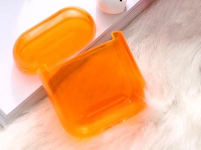 Пластмасов калъф за Apple AirPods, Оранжев