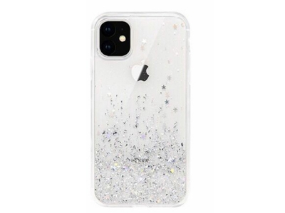 Удароустойчив гръб Glitter за Iphone 11 Pro (5.8), Прозрачен