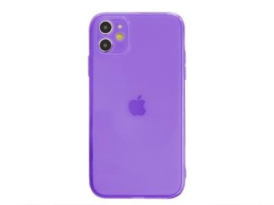 Силиконов Гръб за iPhone 11, Лилав
